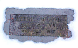 Hettie <I>Lambert</I> Morgan