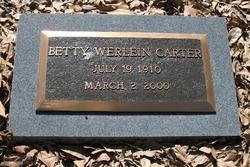 Betty Werlein Carter