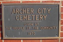 Archer City Cemetery