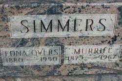 Edna M <I>Over</I> Simmers
