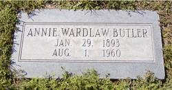 Annie <I>Wardlaw</I> Butler