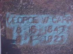 George Washington Carr