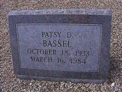 Patsy Ruth <I>Dabney</I> Bassel
