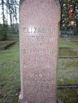 Elizabeth <I>Smith</I> Thompson