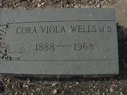 Dr Cora Viola Wells