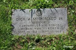 Capt Dick Andrew McDonald, Jr