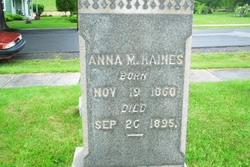 Anna Matilda Haines
