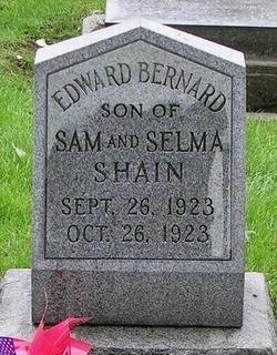 Edward Bernard Shain