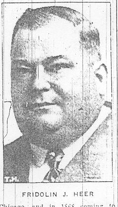 Fridolin Joseph Heer, Jr