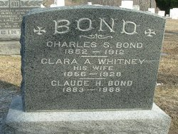 Clara A. <I>Whitney</I> Bond