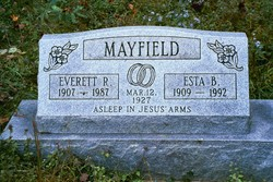 Esta Beatrice <I>Kendall</I> Mayfield