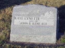 Kaye Lynette Ruf