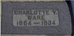 Charlotte <I>Young</I> Ware