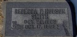 Rebecca Pearl <I>Hodson</I> Smith