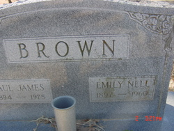 Emily Nell <I>Whitefield</I> Brown