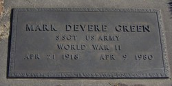 Mark Devere Green