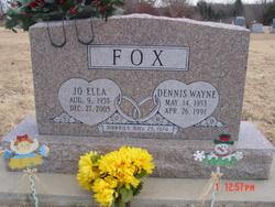 Jo Ella <I>Adsit</I> Fox