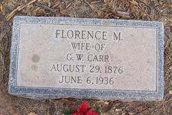 Florence M Carr