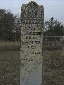 """Joseph Andrew Jackson """"Jack"""" Blankenship"""