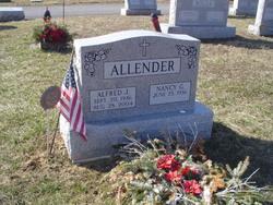 """Alfred J. """"Bup"""" Allender"""
