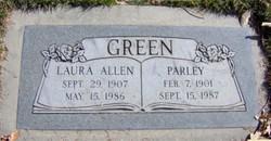 Laura <I>Allen</I> Green