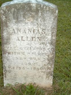 Ananias Allen
