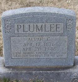 Alvah Coleman Plumlee