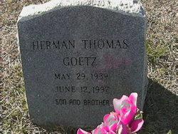 Herman Thomas Goetz