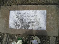 Anna <I>Kruger</I> Acker