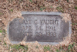 Maye Gertrude Vaught