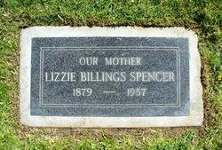 Lizzie <I>Billings</I> Spencer