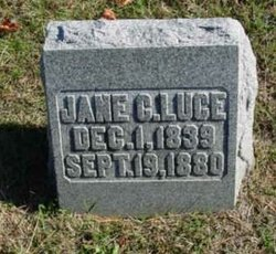 Jane C <I>McVicker</I> Luce