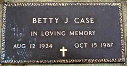 Betty Jean <I>Williams</I> Case