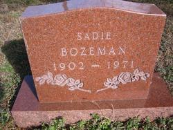 Sadie Bozeman