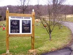 Paden Memorial Gardens