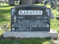 Sgt George P. Karavos