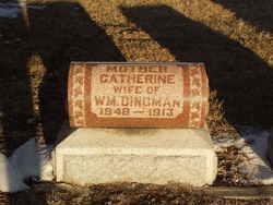 Catherine <I>Paterson</I> Dingman