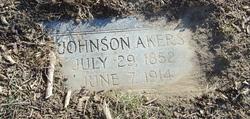 """Abner Johnson """"Johnson"""" Akers"""