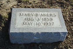 """Mary Isabell """"Bell"""" <I>Malloy</I> Akers"""