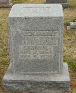 Benjamin F Cain, Jr