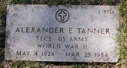 Alexander E Tanner