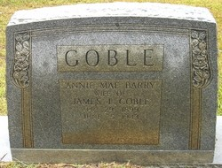 Annie Mae <I>Barry</I> Goble