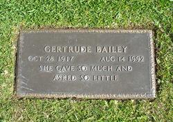 Gertrude Bailey