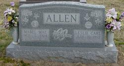 Mabel Mae <I>King</I> Allen