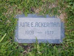 June E. Ackerman