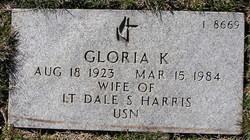 Gloria K Harris