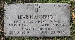 Lewis H Anderson