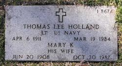 Mary K Holland