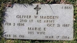 Oliver W. Madden