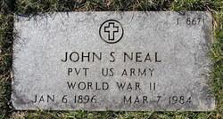John S Neal